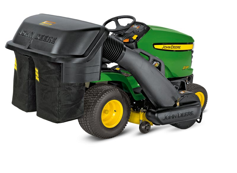 John Deere 250 ltr Power Flow Collection System