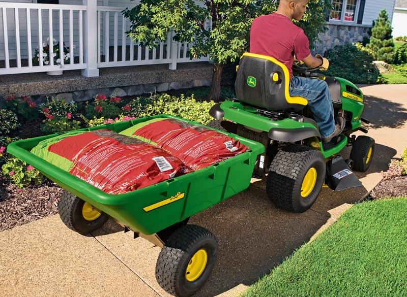 John Deere 10P Utility Cart Poly