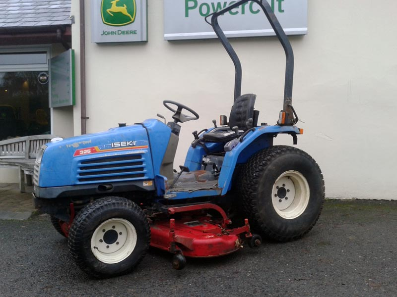 Used Iseki Tractor Parts : Iseki tf fh used compact tractor for sale