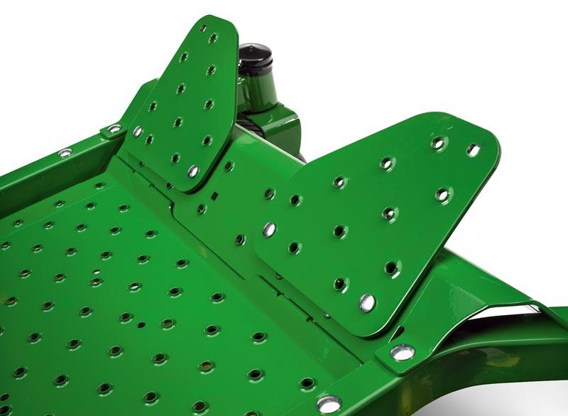 John Deere EZtrak Footrest Extensions
