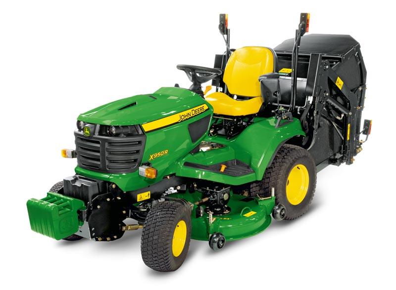 John Deere X950r 54 Quot Low Dump Homologated Garden Tractor