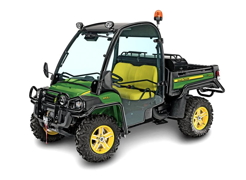 john deere gator xuv 855d 4x4 gator utility vehicles. Black Bedroom Furniture Sets. Home Design Ideas