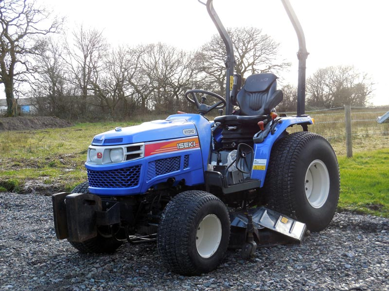 Used Iseki Tractor Parts : Iseki th used compact utility tractor for sale