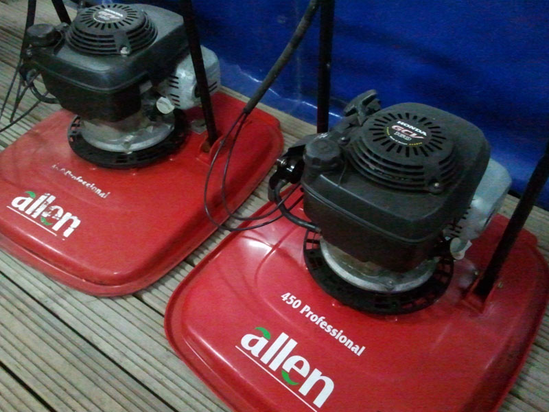 Hover mowers & hovertrim.