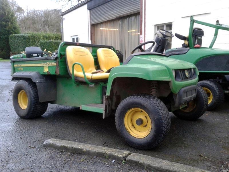 John Deere Gator Salvage Parts : John deere te gator used utility vehicle