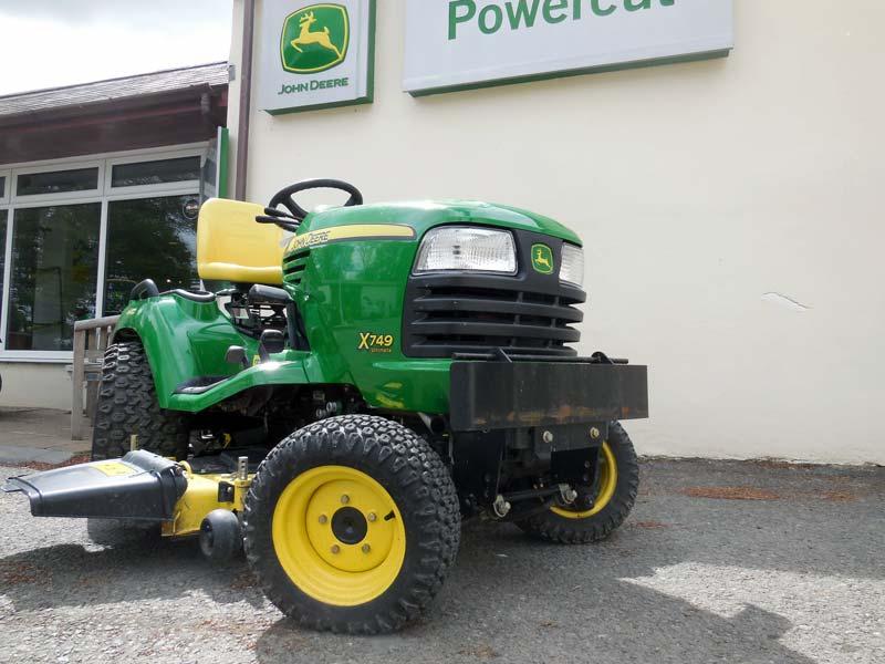 4 Wheel Diesel : Used john deere wd wheel steer diesel garden tractor