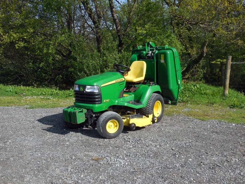 John Deere 740 Tractor : Used john deere garden tractor