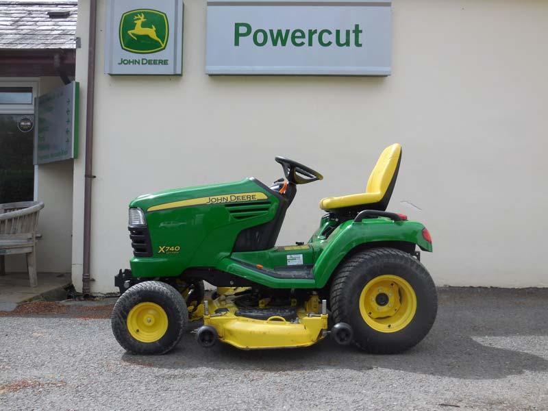 John Deere 740 Tractor : John deere used diesel garden tractor