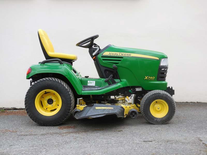 John Deere X740 Used Diesel Garden Tractor