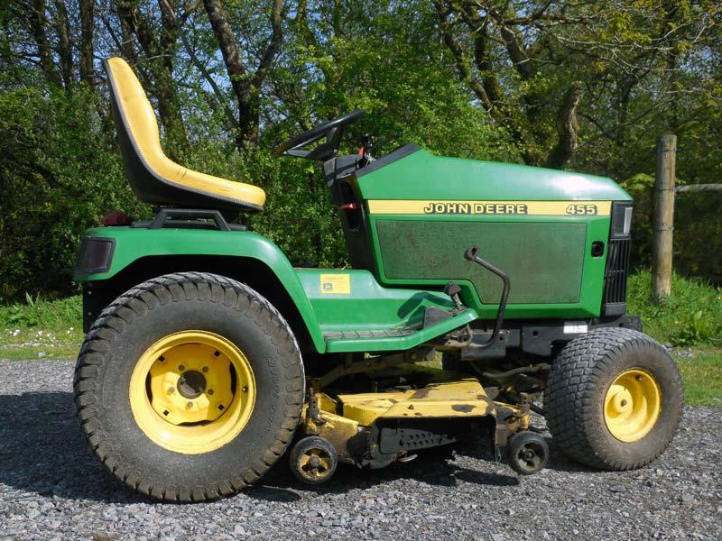 Used John Deere 455 Diesel Garden Tractor