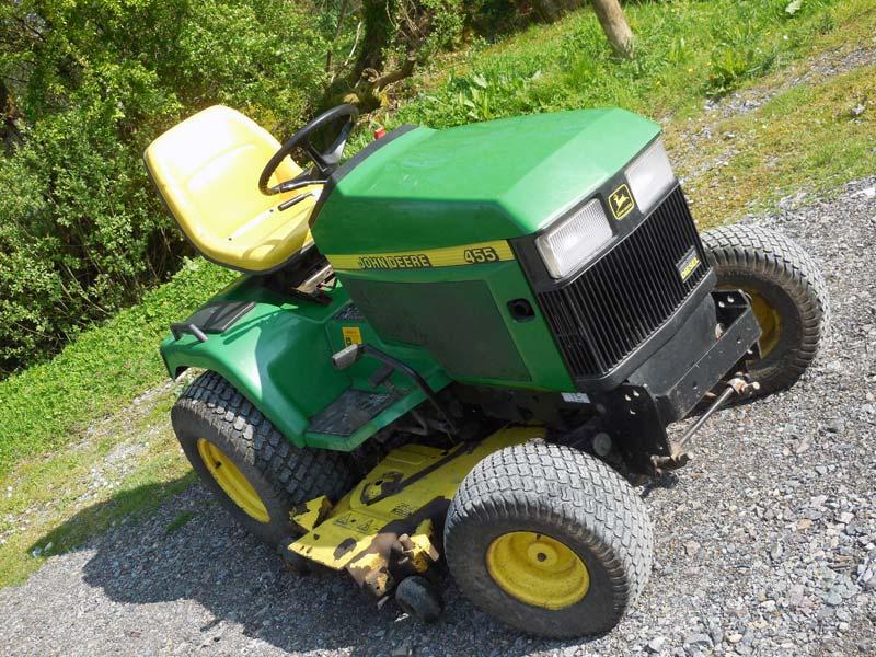 diesel garden tractor. John Deere 455 Diesel Garden Tractor O