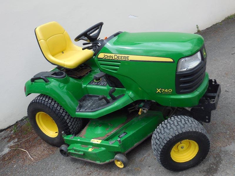 John Deere 740 Tractor : Used john deere diesel garden tractor
