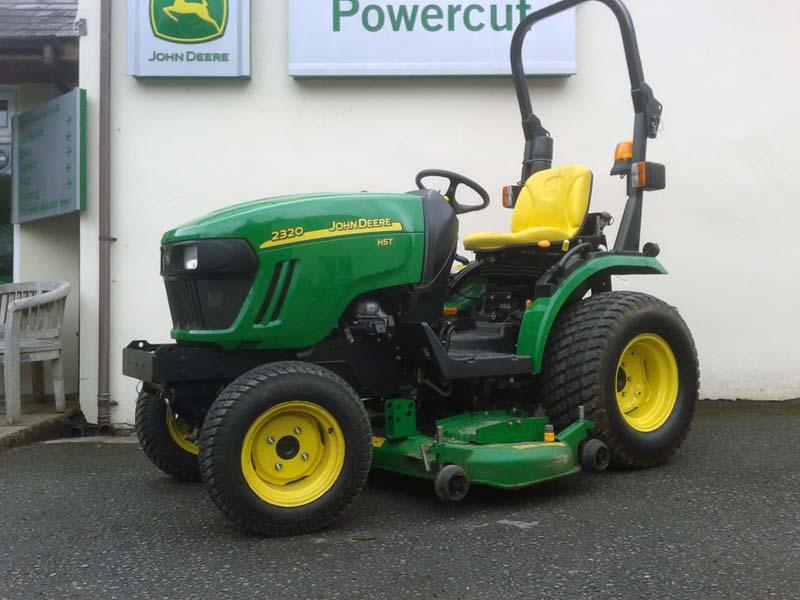 Jd 2320 Mower Adj : Used john deere compact tractor