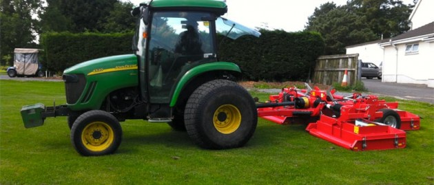 Trimax Snake for Glynhir Golf Club