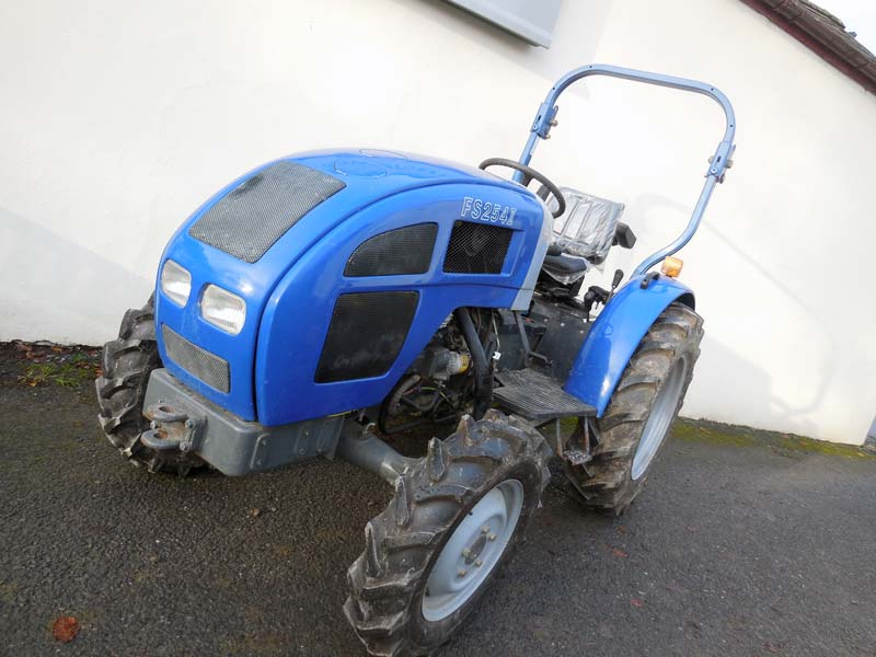 Lenar Tractor Parts : Used lenar fs ii nearly new compact tractor