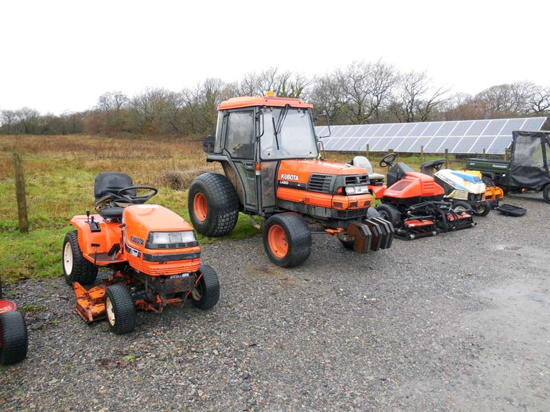 Bumpers For Kubota L4200 : Used kubota l compact tractor