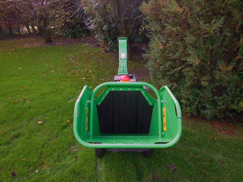 Used GreenMech CS100 Wood Chipper