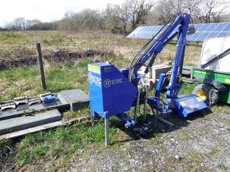 Used Rytec 5L320 Hedgecutter