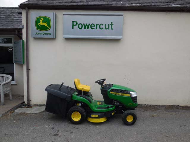 Used John Deere X115R Ride On Mower