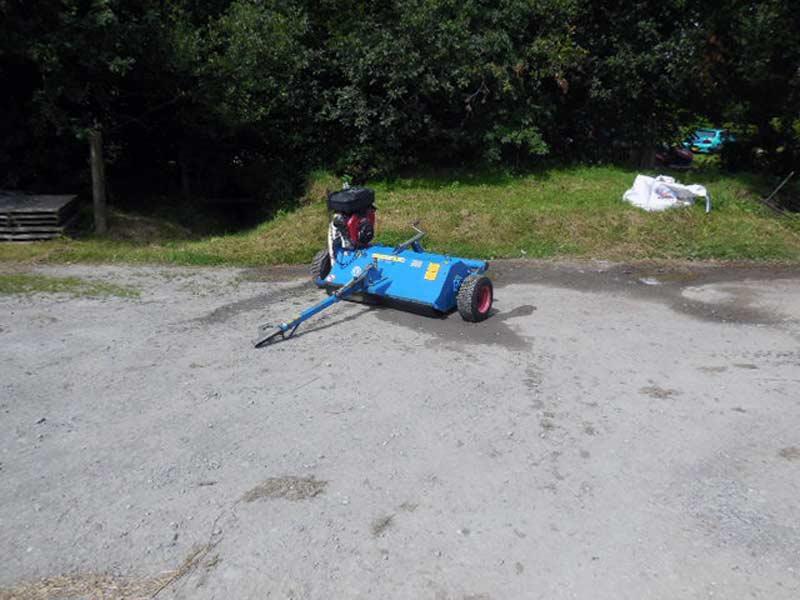 Used Wessex AF120 Towed Flail Mower