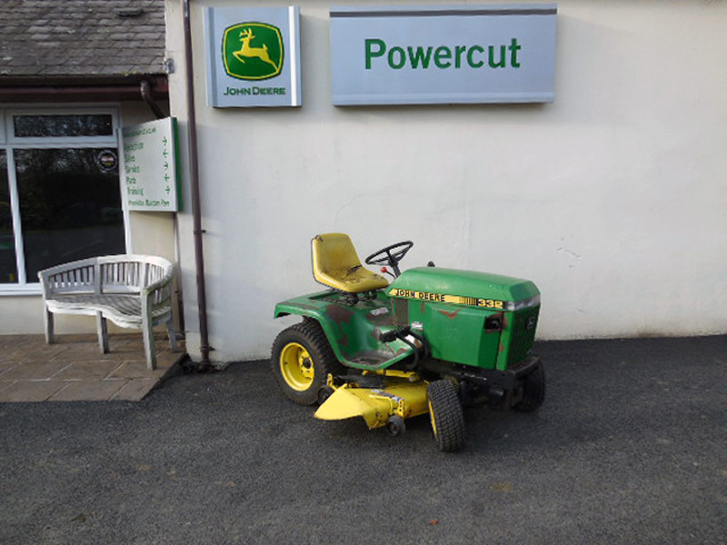 Used John Deere 332 Ride On Lawn Tractor