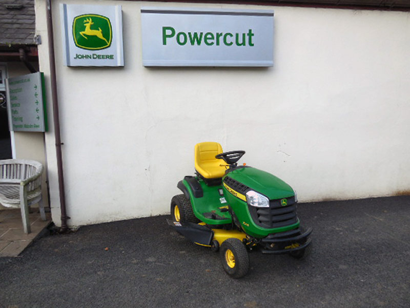 Used John Deere X145 Ride On Lawn Tractor