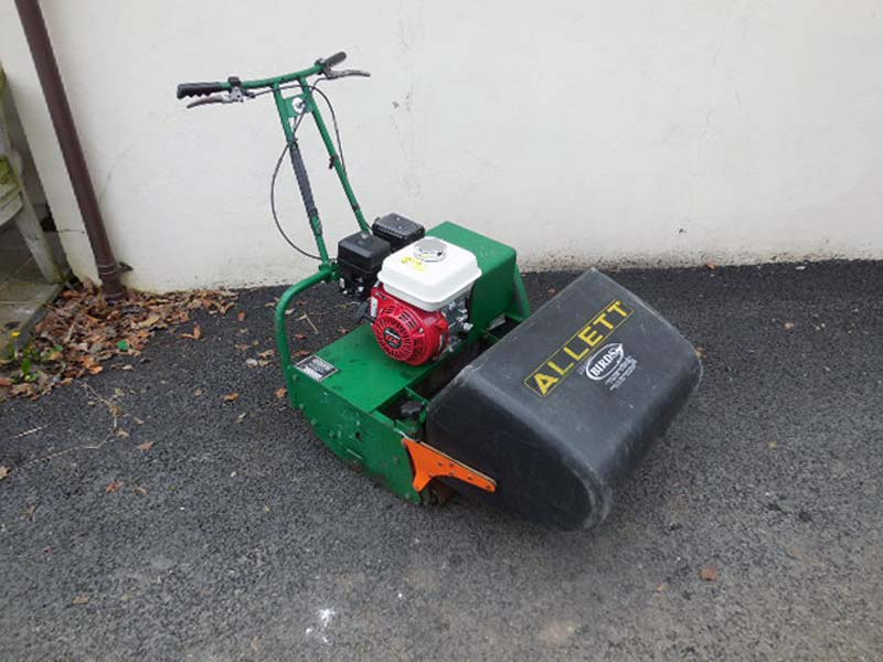 Used Allett Wicket Mower