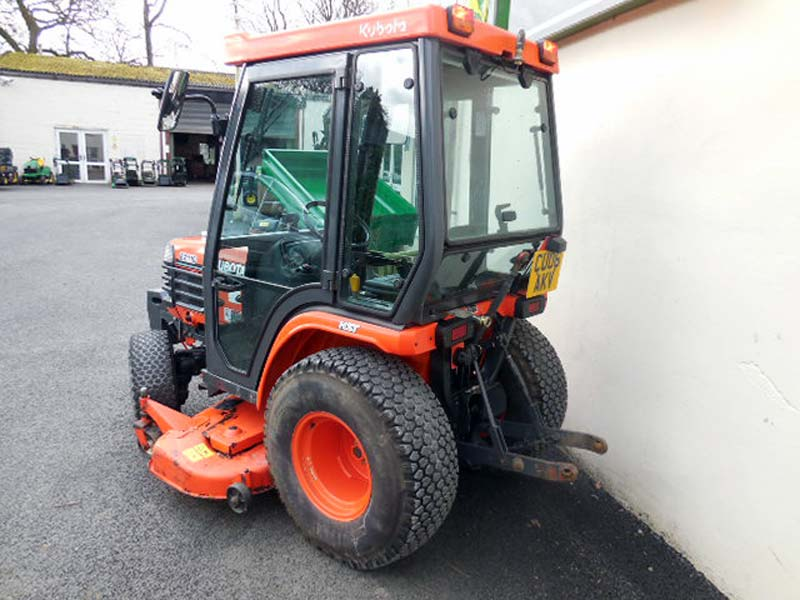 Used Kubota B2110 Compact Tractor