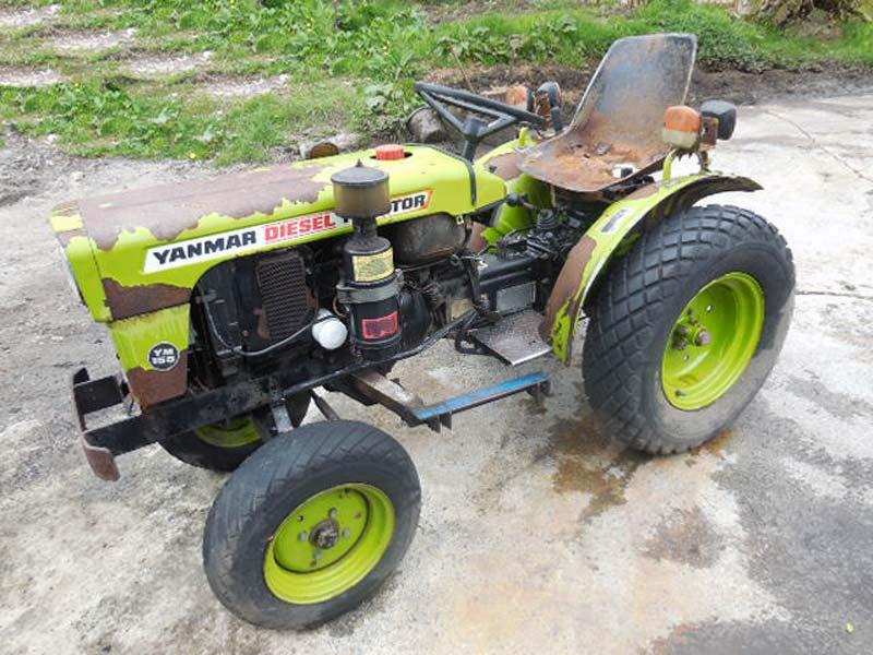 Used Yanmar YM155