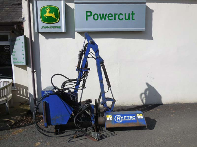 Used Rytec Flail MP300 Hedge cutter