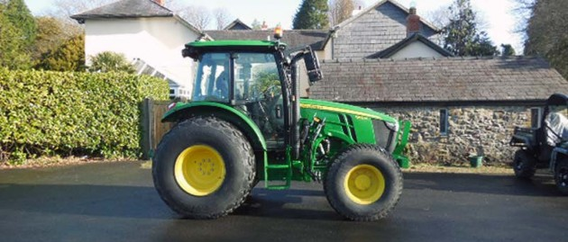 Latest Delivery – John Deere 5100M