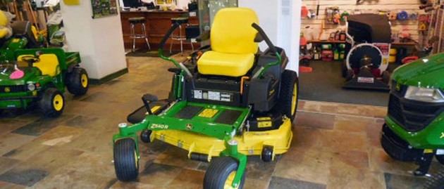 Now in stock John Deere Z540R Zero-Turn Mower.