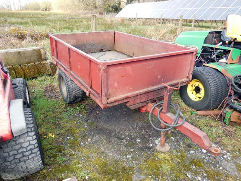 Used Hydraulic Tipping Trailer