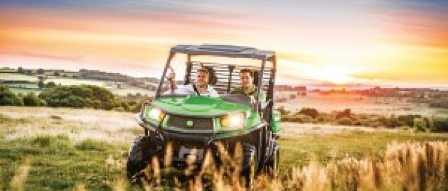 10 places you might find a John Deere Gator Utility Vehicle