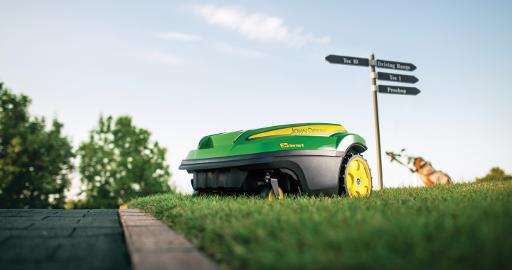 The John Deere Tango E5 autonomous mower: An unexpected new best friend