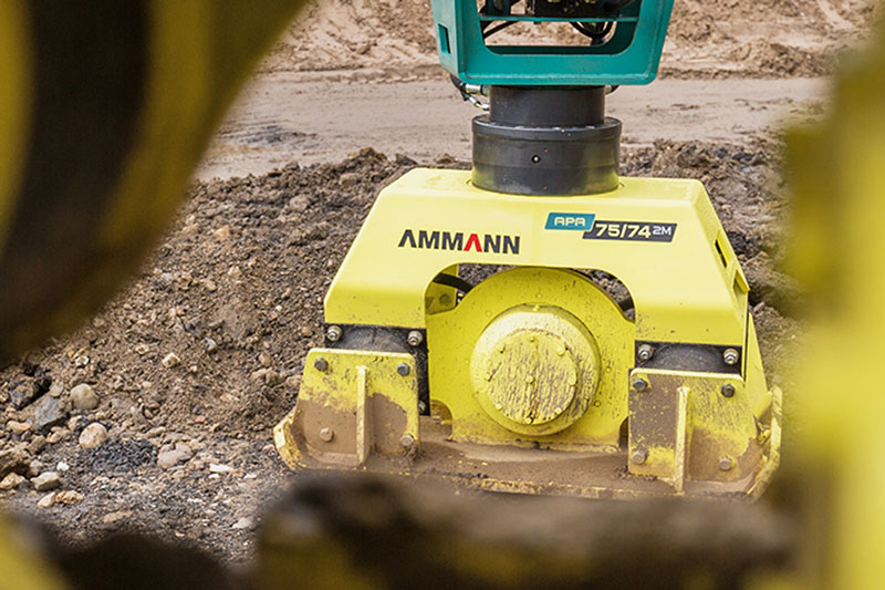 Ammann Vibrating Plate - Construction Equipment