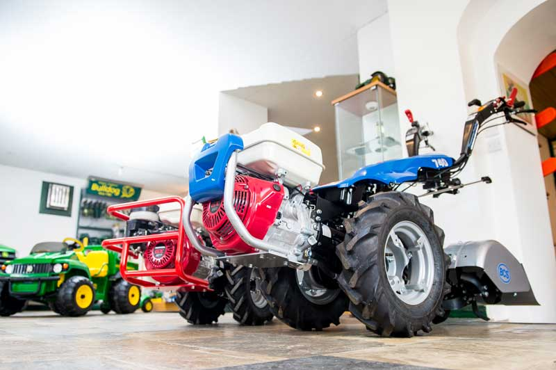 BCS Two Wheeled Tractor at the Powercut Showroom, Carmarthenshire