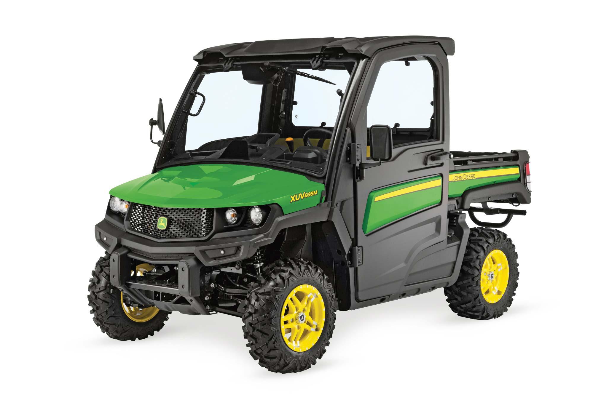 John Deere Gator >> John Deere Gator Xuv835m Powercut