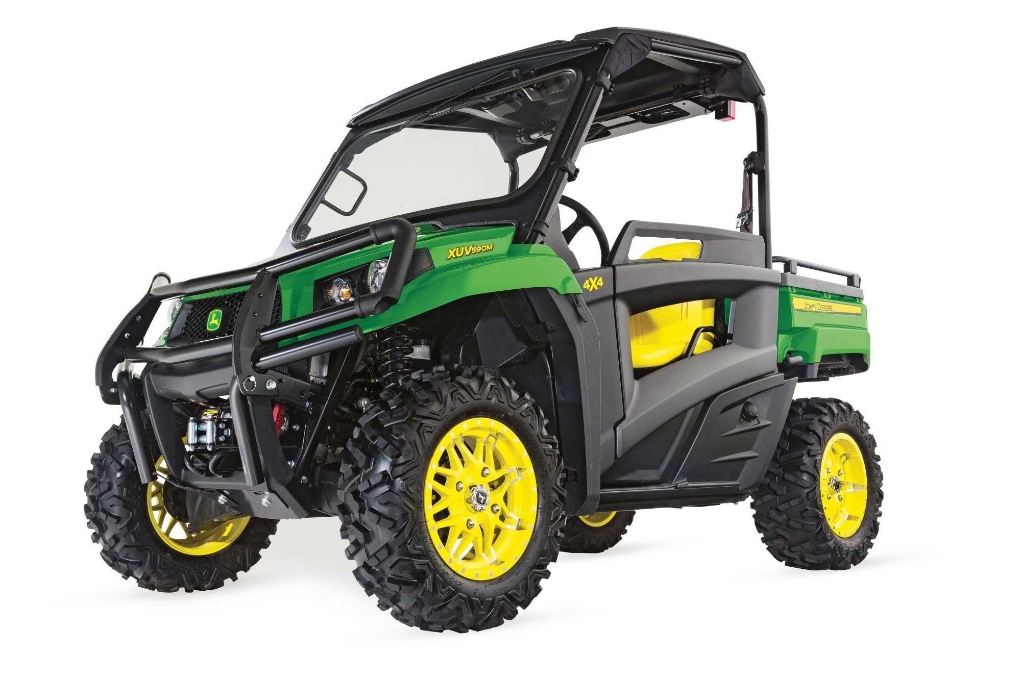 John Deere Gator Xuv590m Powercut